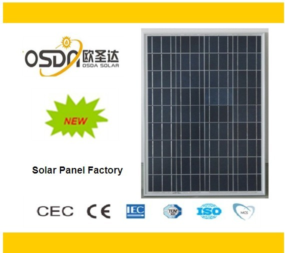 100W 36 cell poly solar panel