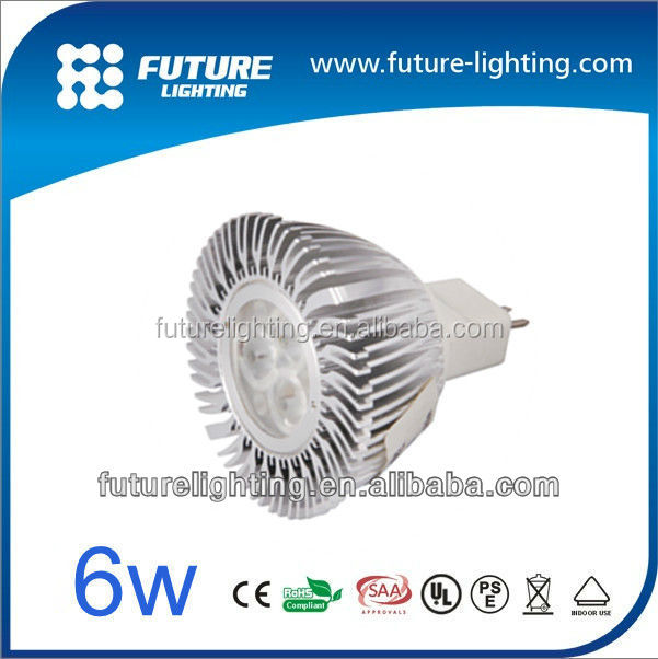 High power 3x2W MR16 mini led spot light