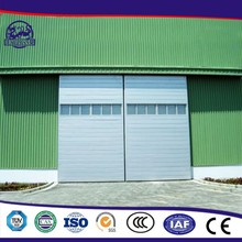 China Cheap Fashionable Industrial Pu Aluminum Sandwich Panel Sliding Door