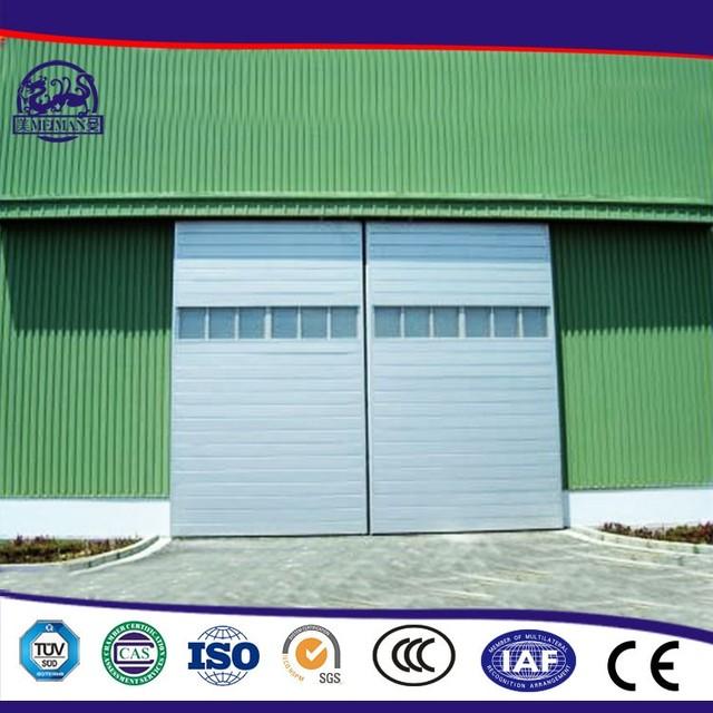 China Cheap Fashionable Industrial Pu Aluminum Sandwich Panel Sliding Door