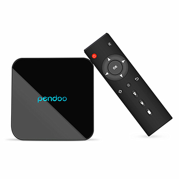 2019 Hot selling Pendoo x10 pro s912 3g 32g TV Box s912 tv box logo for promotion Android 7.1 OS media player box