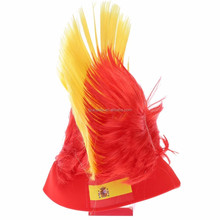 Hot Sell Synthetic Hair Spain Crazy Synthetic Sports Fans Wig