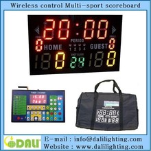 DL8DP05VV0C0 Portable LED electronic digital basketball scoreboard