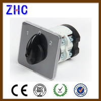 20A 25A 32A 40A 50A 63A 125A Multiple Position On Off Rectangular panel changover Rotary switch