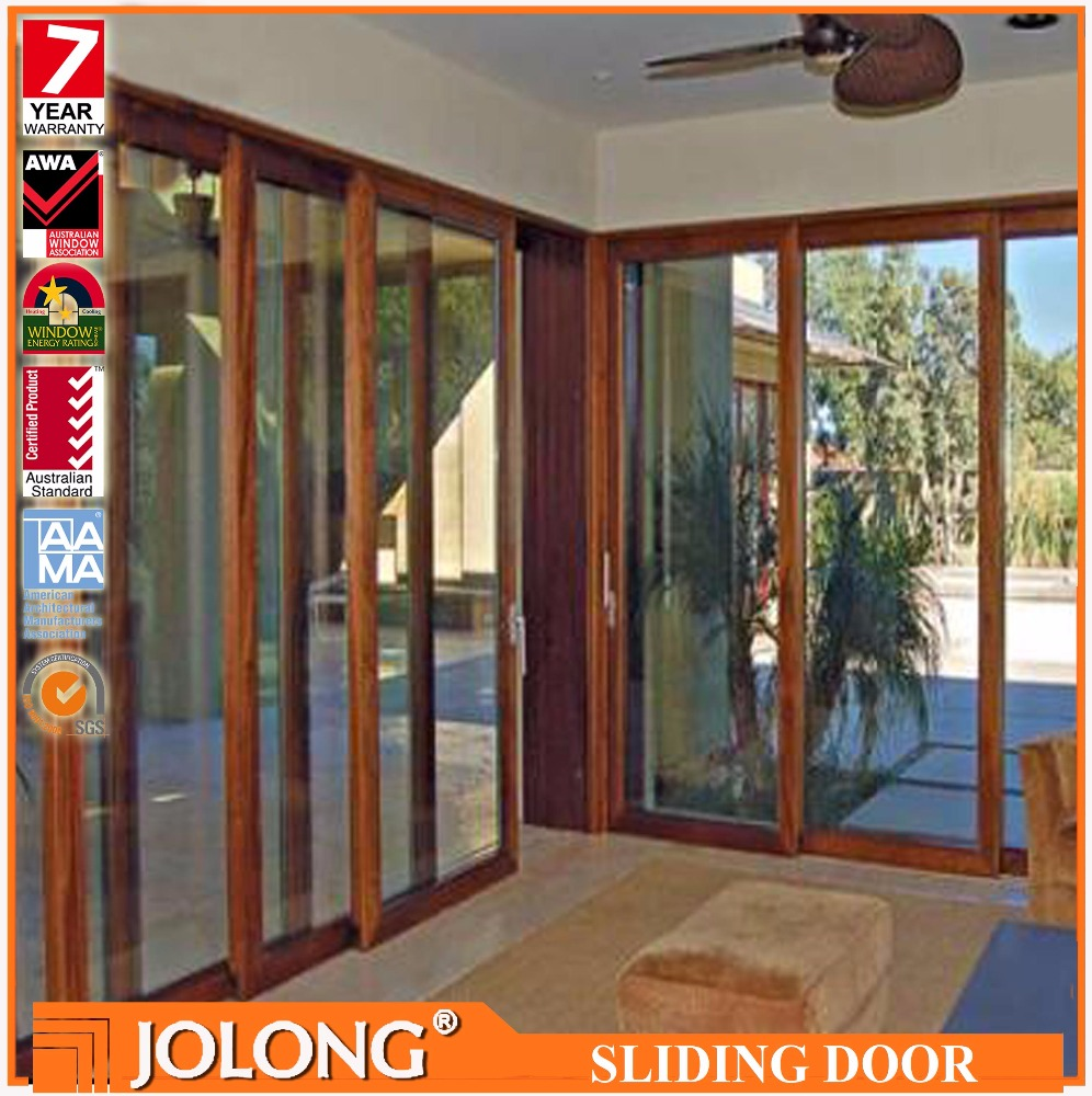 New Design Durable Australian Standards Heavy Duty Aluminum Alloy Sliding Door With High Quality Hardware