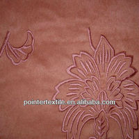 "100%POLYESTER SUEDE FABRIC 105DX200D 150GSM-240GSM 57/58""FOR JACQUARD SOFA"