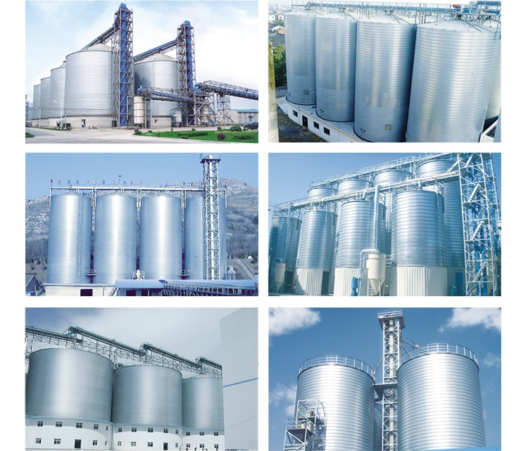 Large Volume Grain Feed Silos For Sale