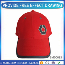 Hot selling machine panel 3d embroidery baseball cap for supermarket