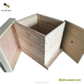 Factory supply best quality hot sale two layers Europe dadant beehive