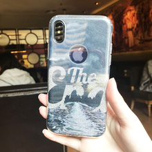 3 IN 1 Glitter Layer Phone Case For IphoneXColor Printing Mobile Phone Accessory