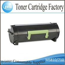 New models!compatible toner cartridge for lexmark MS710 MS711 MS810 MS811 MS812(Not original)