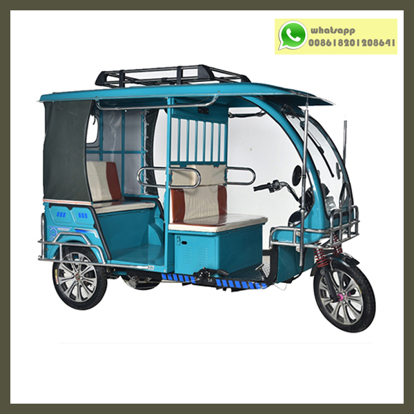 Electric Auto Rickshaw In Bangladesh with 60v 1000w Datai Motor