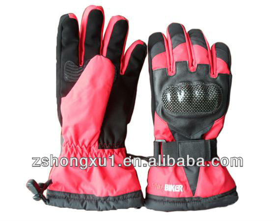 Wholesale Ce Snow Protective Ski Printed Motorbike Motorcycle Hand Gloves