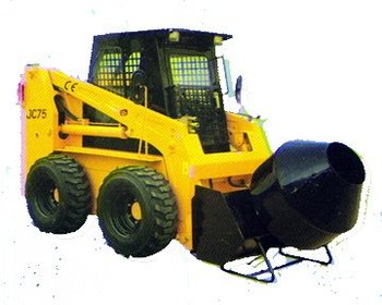 Attachment of JC Series Skid steer Loader :Concrete mixer