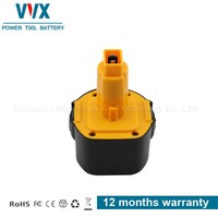 9.6V 2.5ah Rechargeable Power Tool Battery for Dewalt
