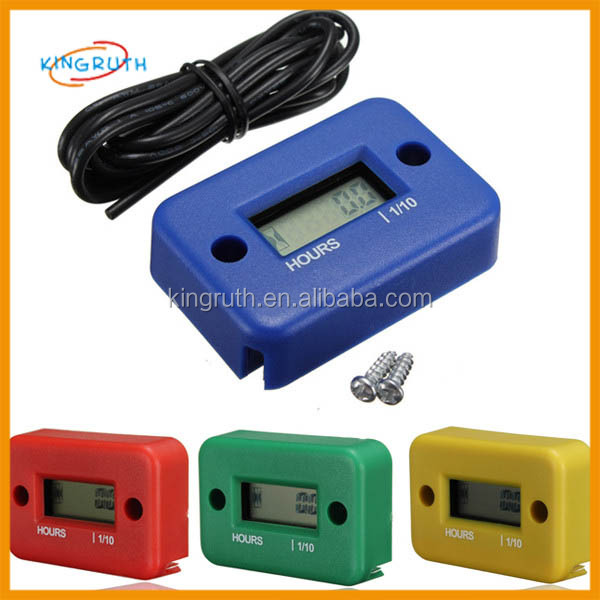 ATV Gas Engine Hour Meter 6 colors hot selling moto spare parts from china