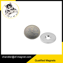 neodymium magnets n42 1/2*1/4*1/4 north pole countersunk