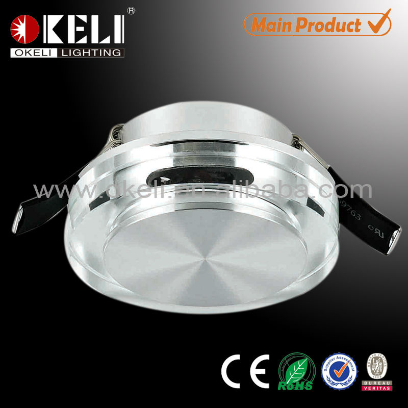 interior led recessed wall light