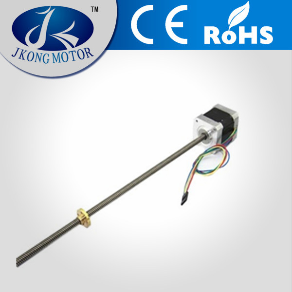 12V NEMA17 stepper/ stepping motor with 200mm/300mm lead screw