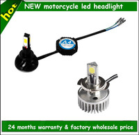 2015 High power 4300k 5000k 6000k high/low H4,H6,H7 headlight motorcycle accessory