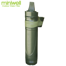 military survival water filtration for relief water supplies airlifted supplies or disaster zone or relief charities