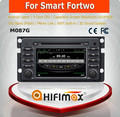 HIFIMAX Wholesale For Benz Smart Fortwo 2007-2011 Car GPS Navigation System Android 4.4.4 Rear Camera Bluetooth Wifi Dashboard