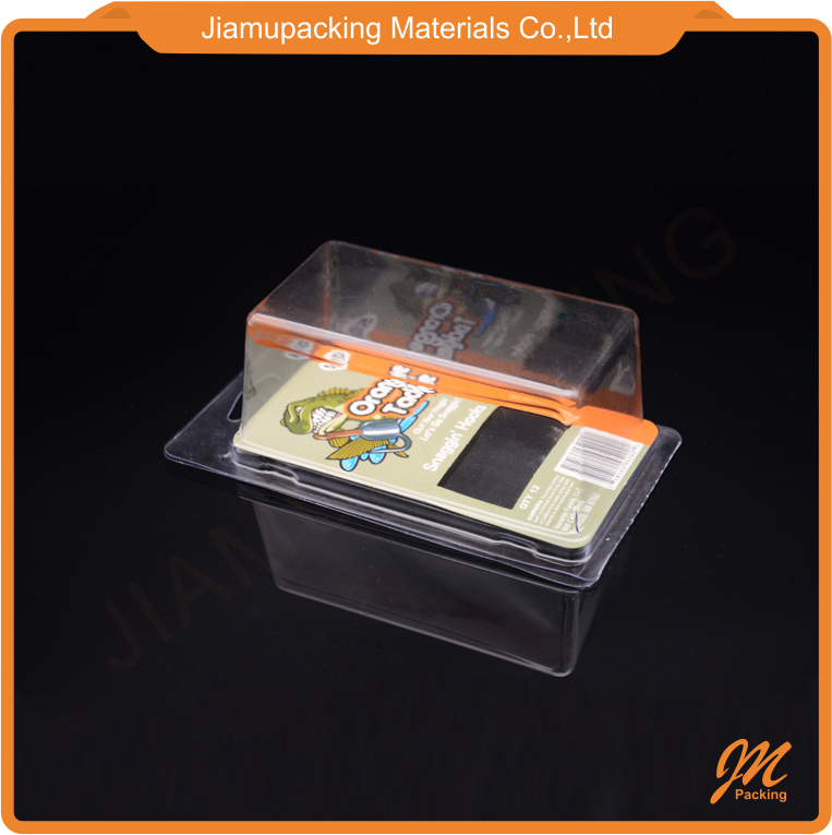 Custom recyclable material PVC blister package box for vape/cosmetic/toy