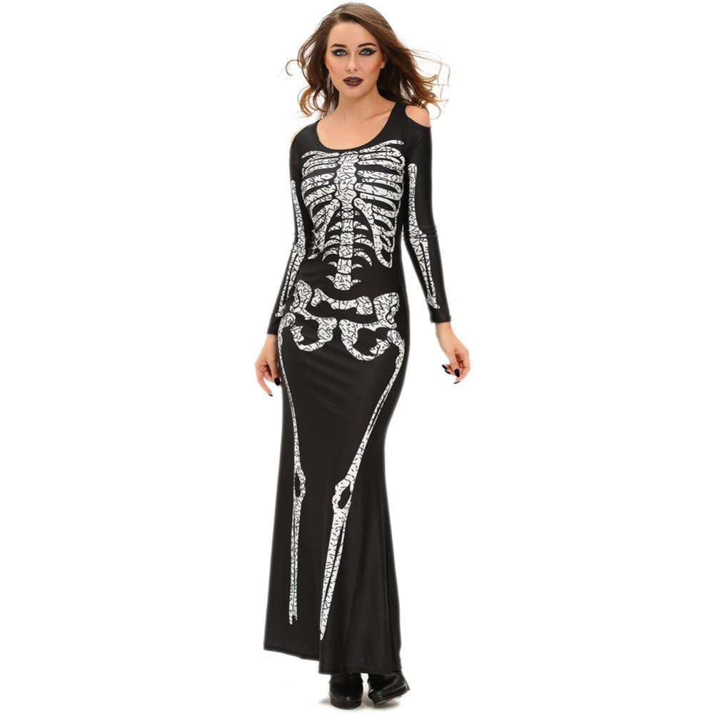 QX2033 Europe Halloween costumes role-playing evil witch new nightclub dress