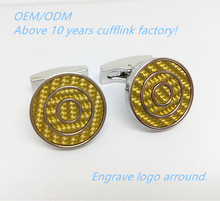 Gold swank cufflinks value cuff link from China