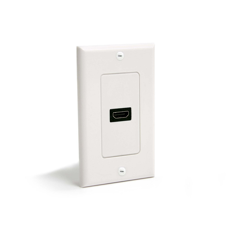 wallmounted tablet home automation wall plate 1 port network faceplate