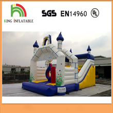 Chrismas Holiday Inflatable Folded Bouncy Air Castle For Outdoor Games