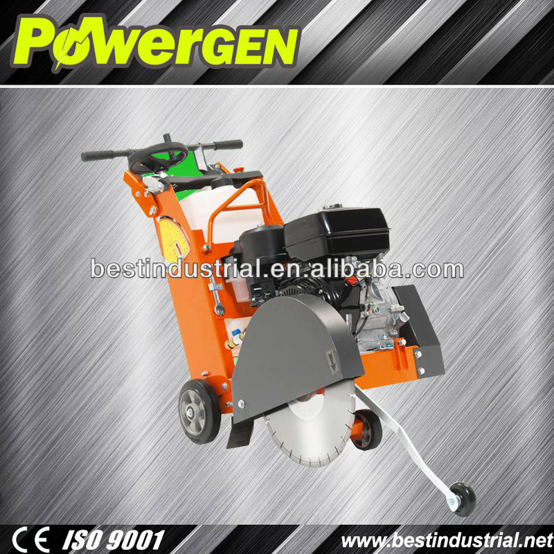 Factory Price!!!POWER-GEN Super Design Reliable Road Machinery Portable 150mm Honda Engine Gasoline Concrete Asphalt Cutter
