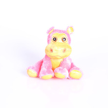pink custom hippo plush toy