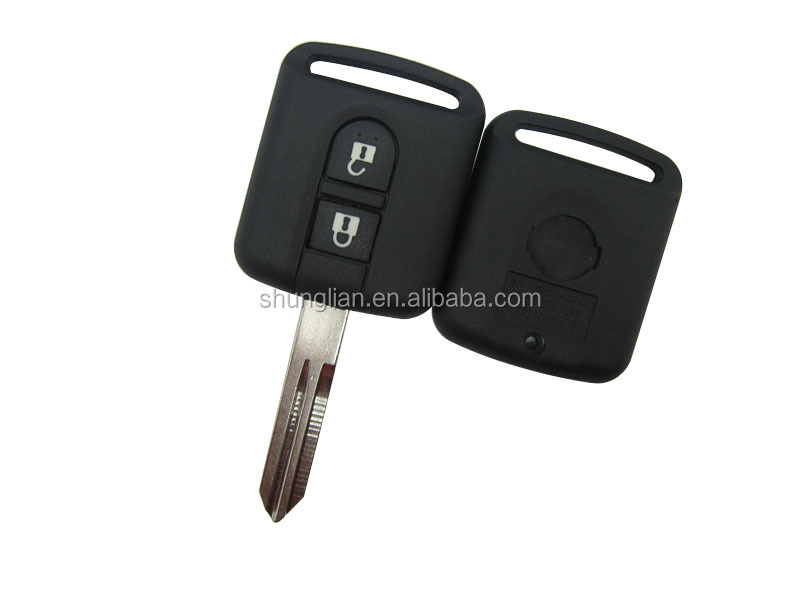 High quality Wholesale 2 button remote key shell for key