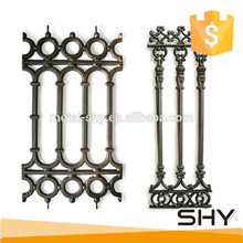 Balcony used wrought iron material baluster railing