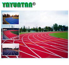 Professional 13mm thickness sandwish synthetic rubber running track/tartan track material