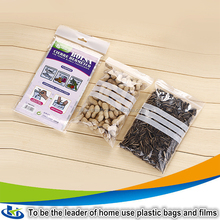 plastic bag manufacturer wholesales polythene bags small zipper/hookah blast bag