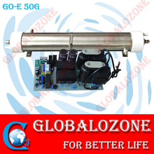 SS316L water cooling enamel well ozone generator tubes