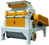 Small output wood chips hammer mill/ peanut shell grinder