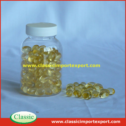 Supplements Cod liver oil Softgel Capsules Oem 500mg/1000mg