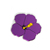 personal tailor flower acrylic lapel pin for women