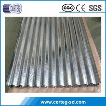 High quality galvalume corrugated steel sheet used metal roofing