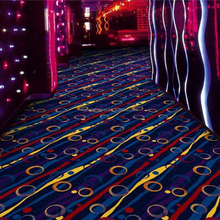 Fireproof Nylon 66 Wall to Wall Movie Theater Carpet WS-1811 Series