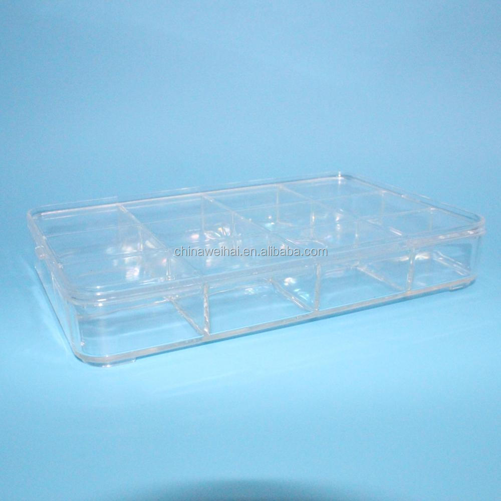 Transparent Plastic Box With Lid