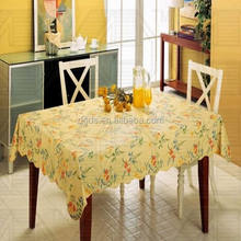 China supplier roll vinyl table cloth / recycle plastic sheet table cover with nonwoven backing/ pvc sheet tablecloth/ printed