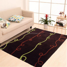 chinese silk 100% polyester hand tufted rugs carpet carpets