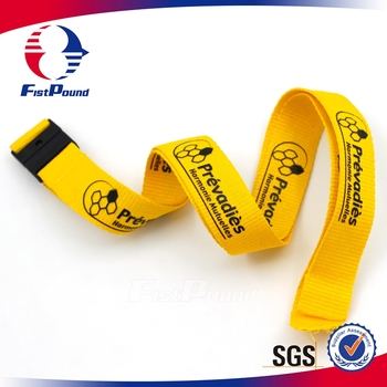 Printing with your customed logo yellow ribbon grosgrain ribbon