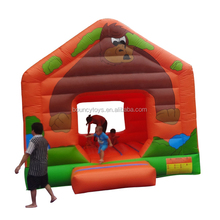 Kids inflatable jumping castle inflatable bouncy castle with water slide