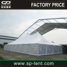 200people pole and peg tent 40x80 with Liners and lightings