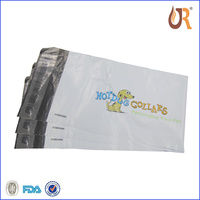 Mailing Envelope Black Printed Plastic Mailing Imprinted Postage Bag